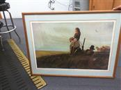 FRED FELLOWS Painting FIRST GLIMPSE OF THE ROCKIES